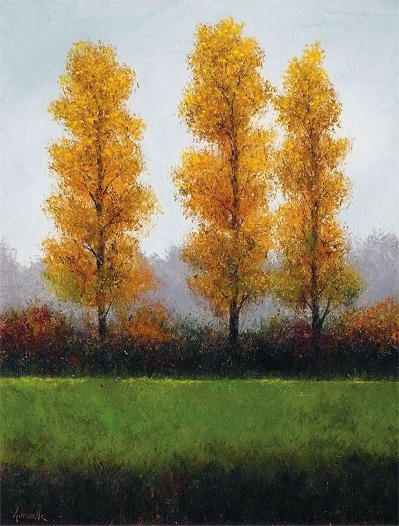 Three Poplars