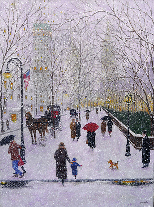 Winter on Fifth Avenue II